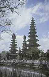 Bali is an island with 1000's of temples